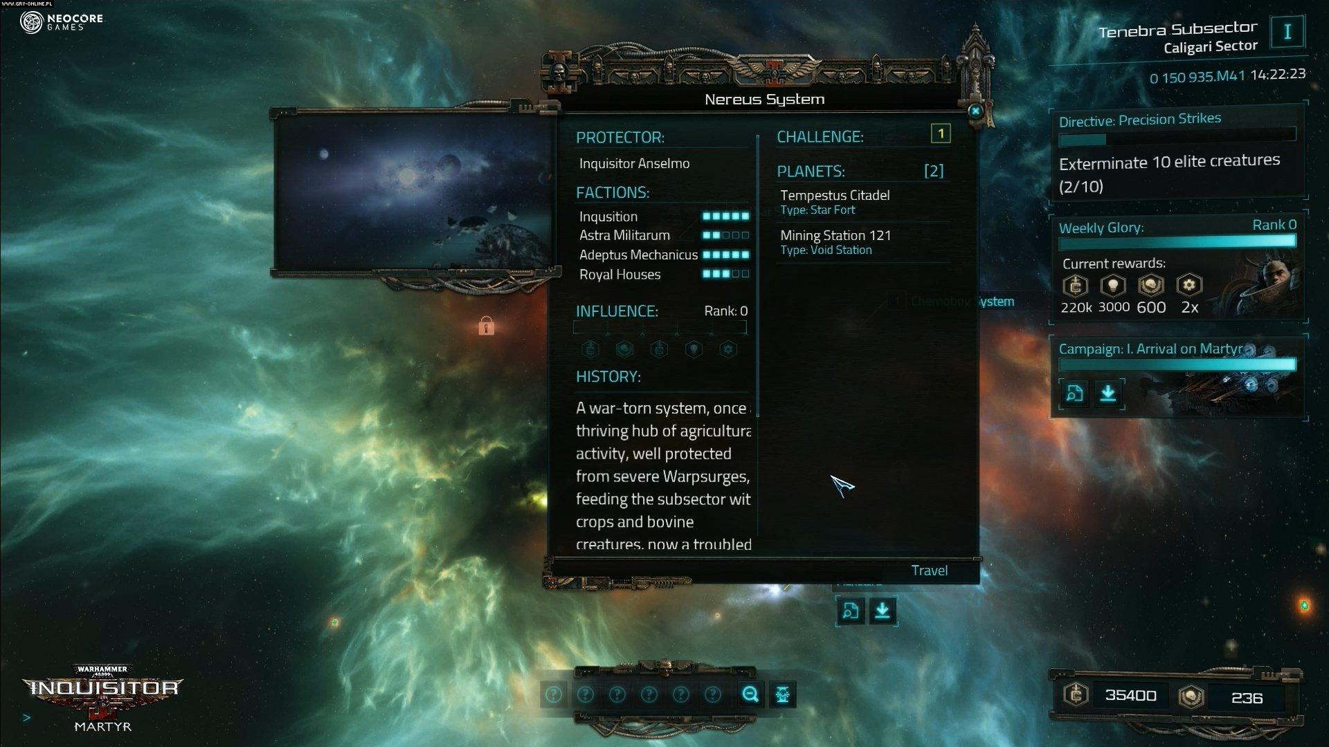 Warhammer 40,000: Inquisitor - Martyr torrent