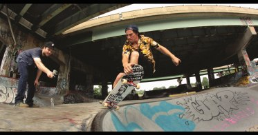 Christian Hunsberger At FDR Skate Park