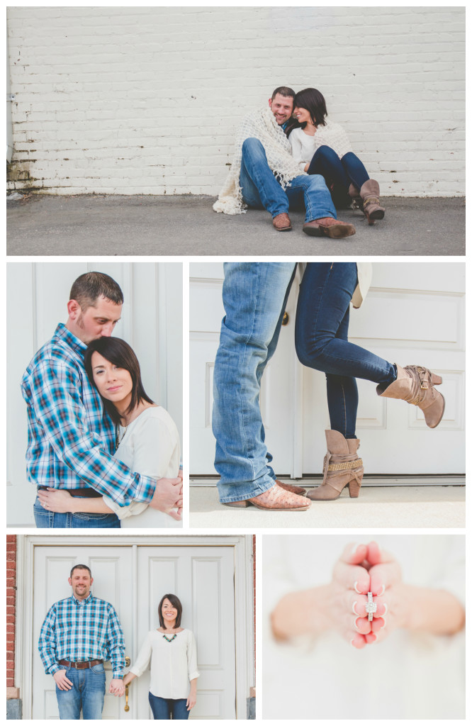 Downtown Apex, NC Engagement | Images by Amber Robinson | Raleigh Wedding Photographer