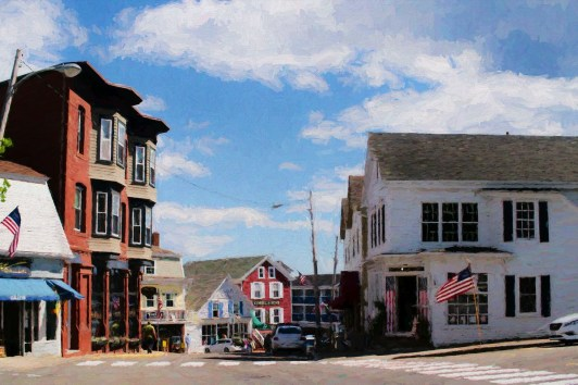 Flags - Boothbay Maine
