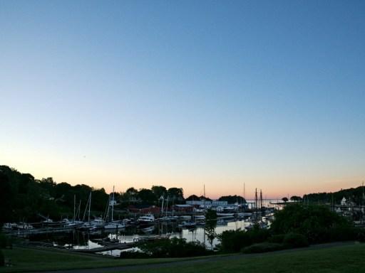 Rockport Harbor Early Morning Light