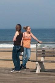 Asbury Park, NJ, boardwalk, beach, ocean, New Jersey shore