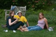 picnic, Arboretum Frelinhuysen, david, sonja, sandra