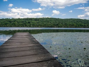 Lake in Kittatinny Valley State Park