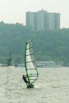 Sandy Hook, New Jersey, windsurfing