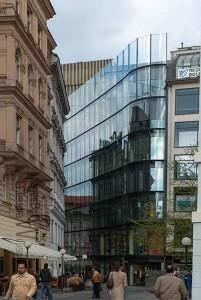 Prague, old town, modern