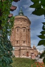 HDR Watertower, Mannheim