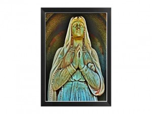 Virgin Mary Cemetery Art