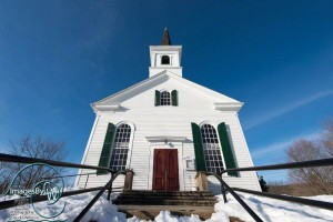 church, winter, waterloo village