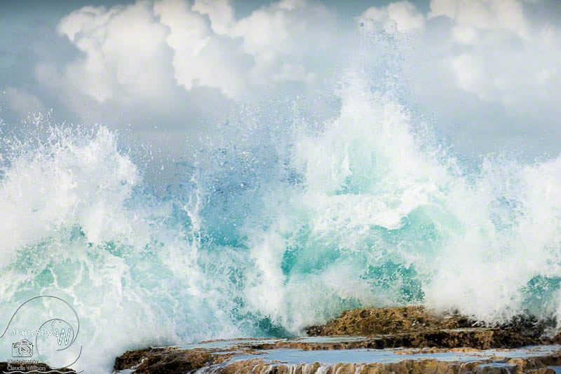 ocean, wave, splash