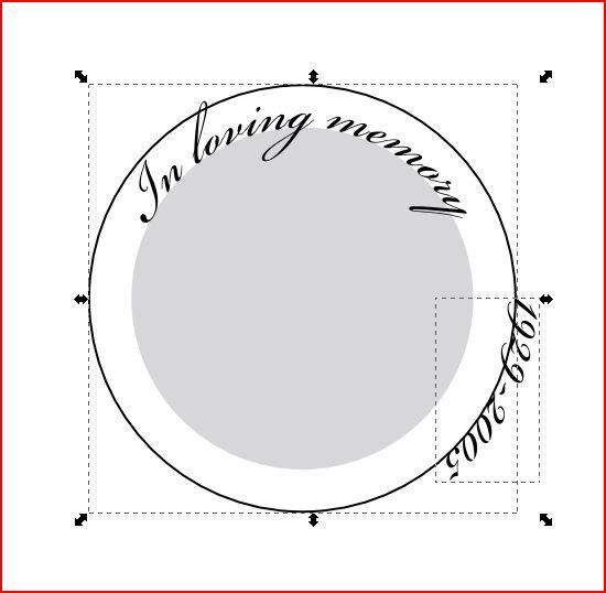 Circle text04