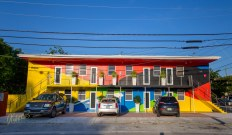 Colorful house in Wynwood Walls