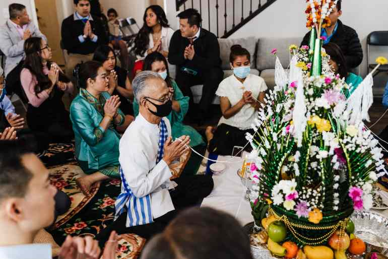 Traditional Lao wedding ceremony takes place in St. Michael, Minnesota