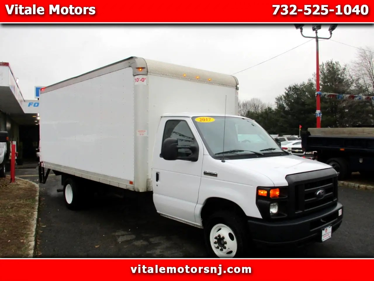 hight resolution of 2017 ford econoline e 350 16 foot box truck w liftgate
