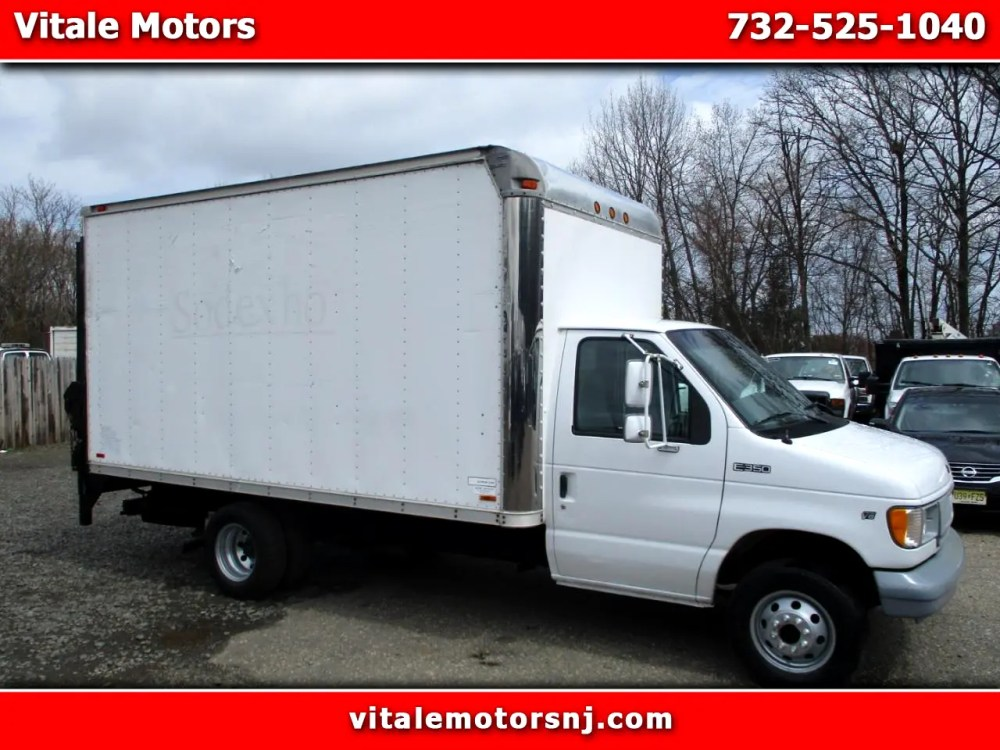medium resolution of 1998 ford econoline e 350 14 box truck w lift gate 26k miles