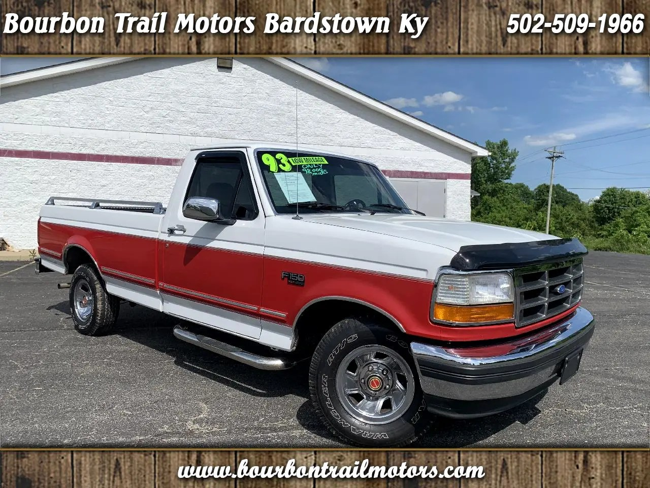 hight resolution of 1993 ford f 150 2wd reg cab 145 xlt