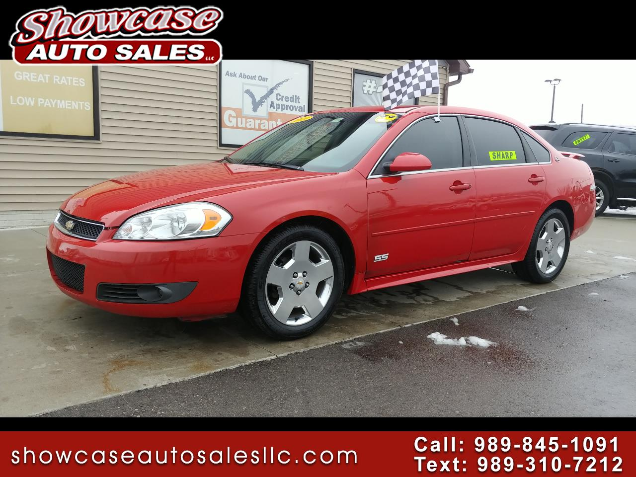 hight resolution of 2009 chevrolet impala ss fwd