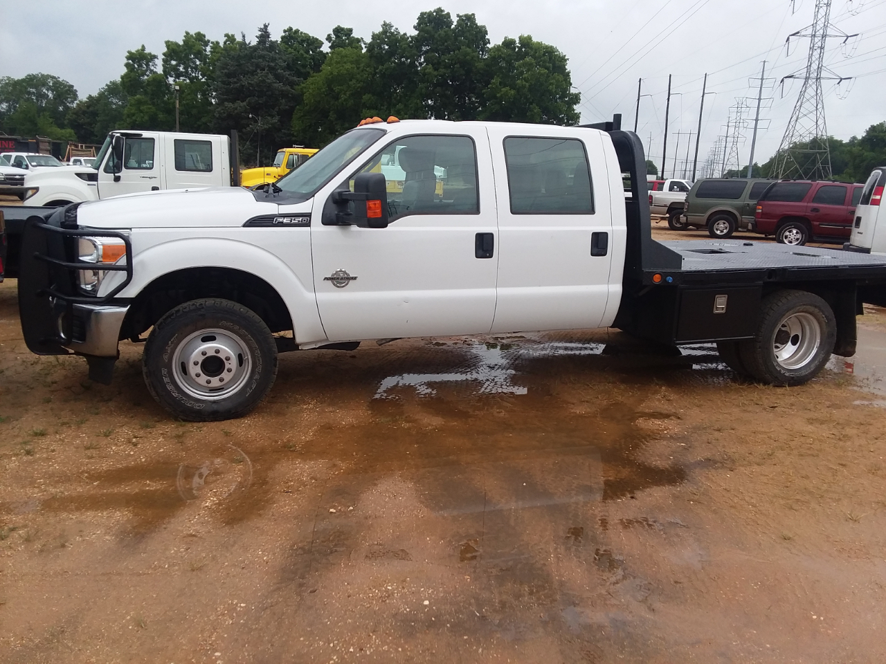 hight resolution of 2014 ford f 350 sd xl crew cab long bed drw 4wd