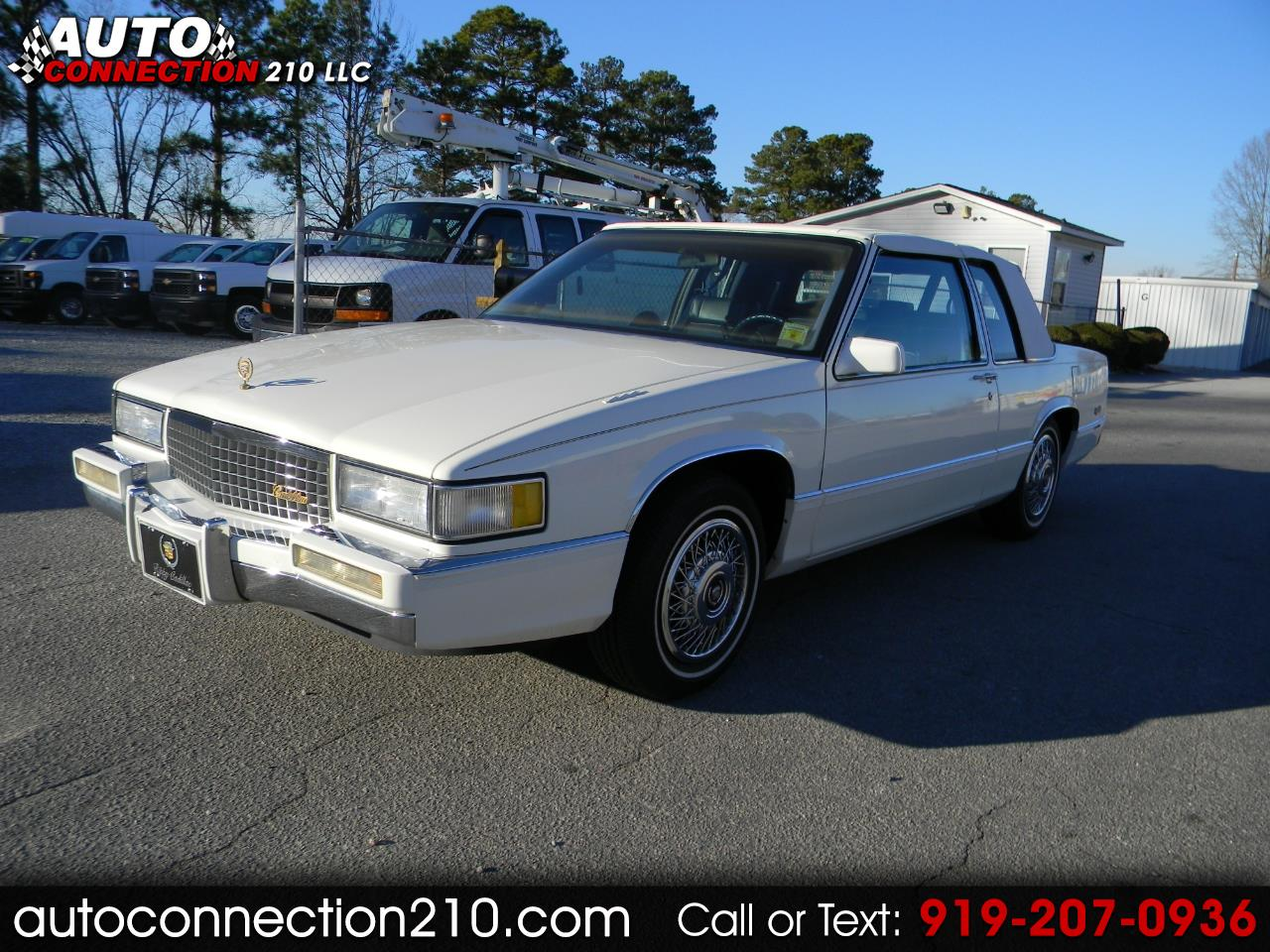 hight resolution of used 1989 cadillac deville