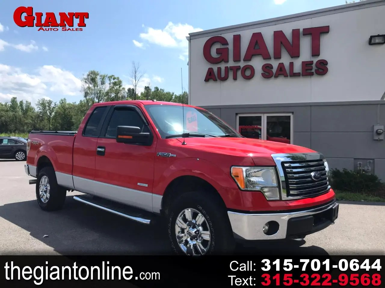 used 2012 ford f