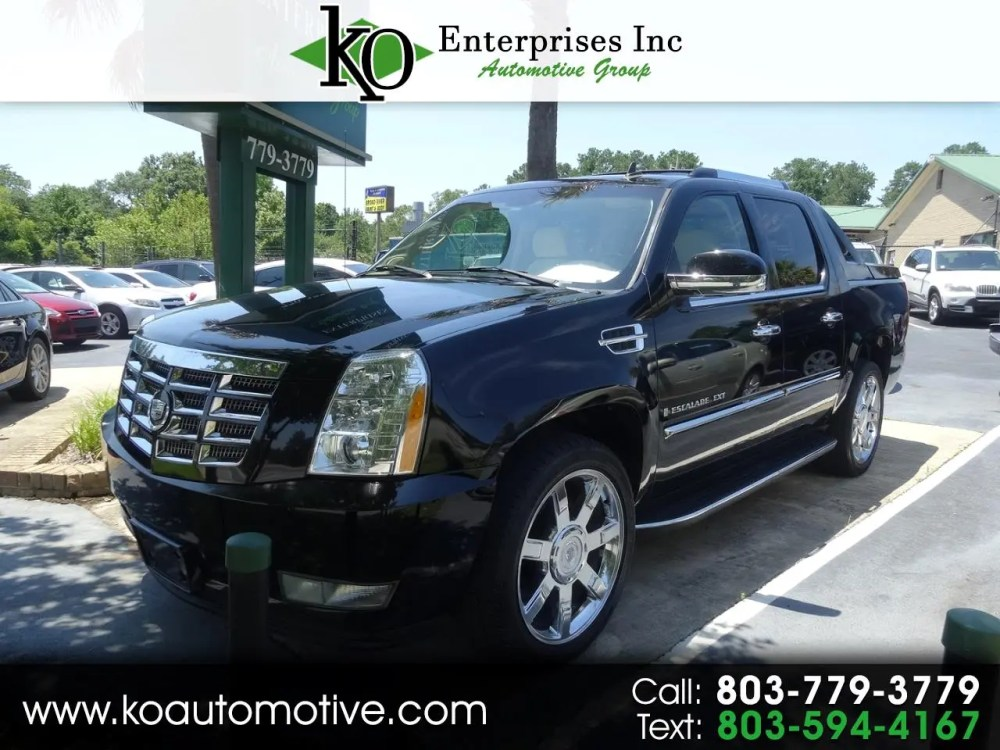 medium resolution of 2007 cadillac escalade ext awd 4dr