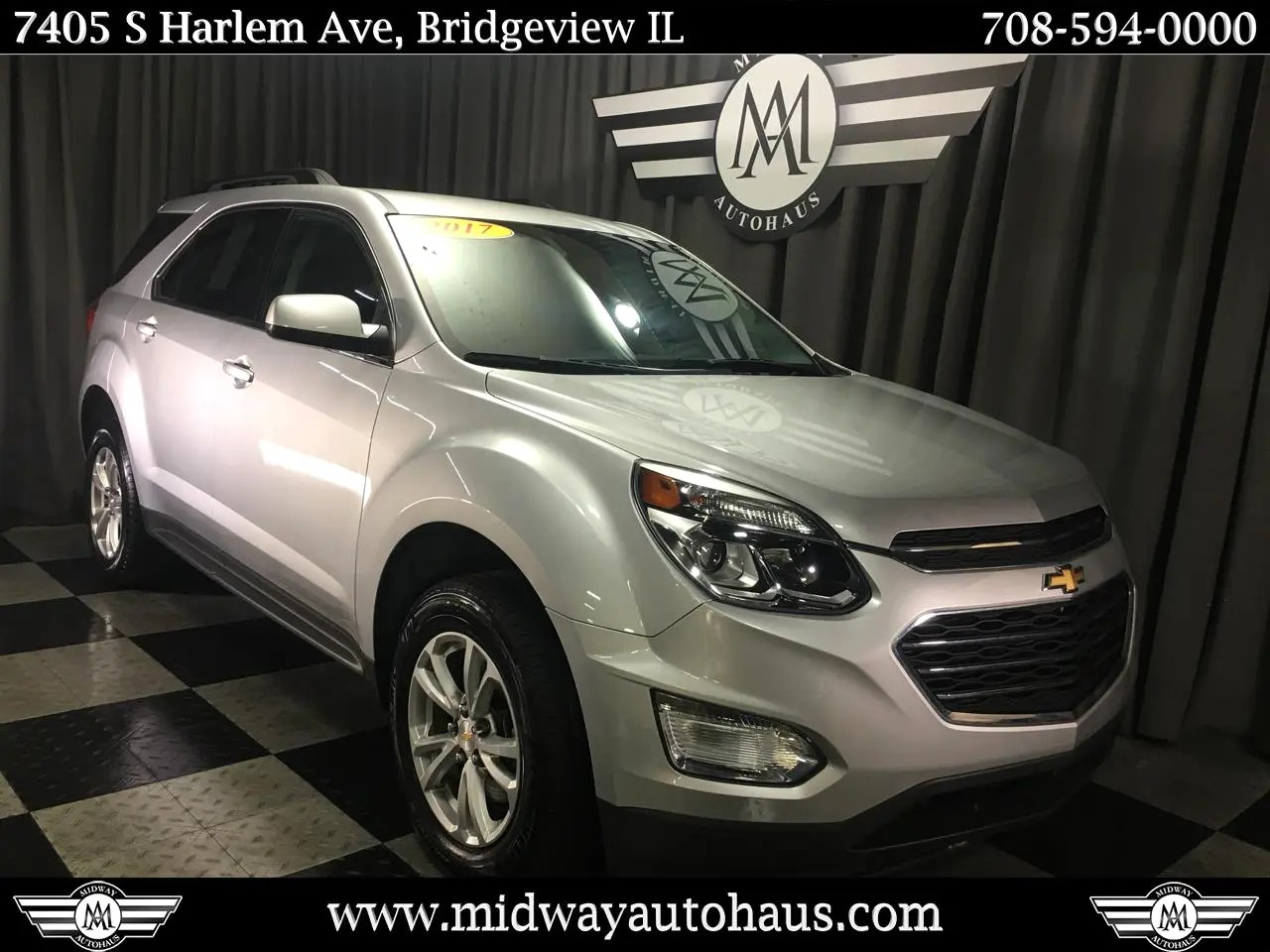 hight resolution of pre owned 2017 chevrolet equinox fwd 4dr lt w 1lt