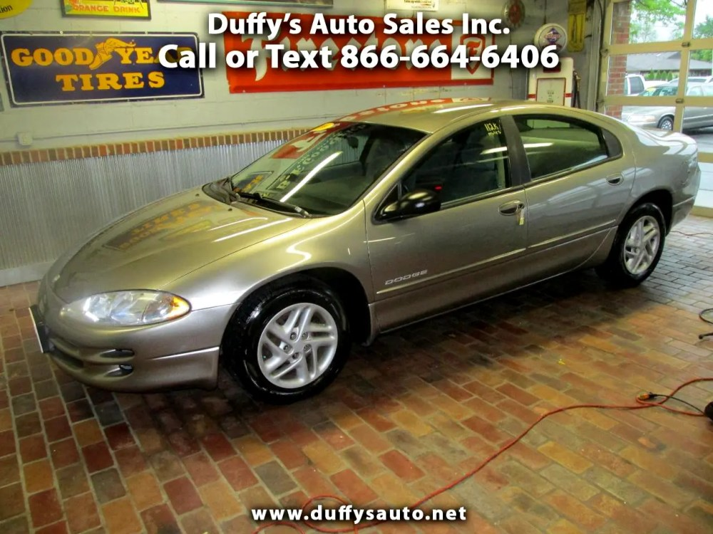 medium resolution of 1999 dodge intrepid 4dr sdn base