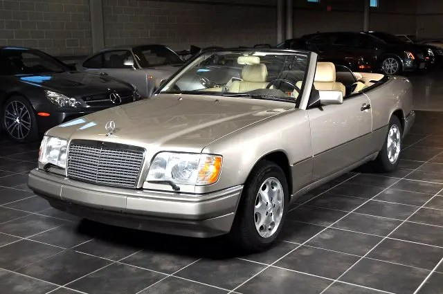 Used 1995 Mercedesbenz Eclass E320 Cabriolet For Sale In