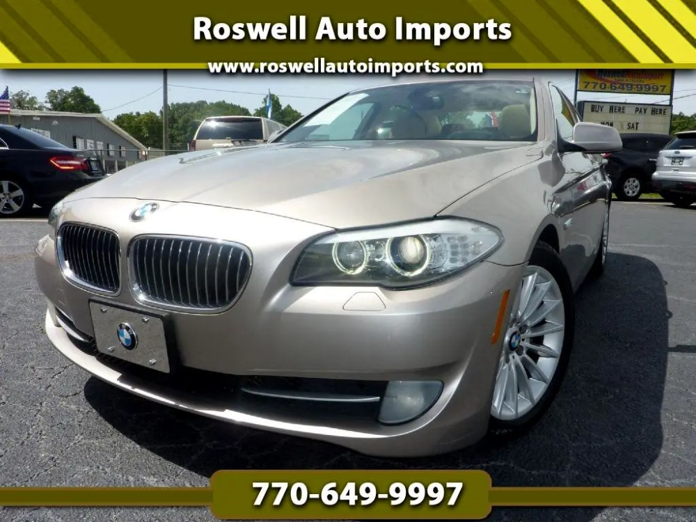 medium resolution of 2011 bmw 5 series 535i