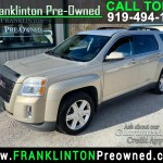 Used 2012 Gmc Terrain Slt1 Fwd For Sale In Franklinton Nc 27525 Franklinton Pre Owned