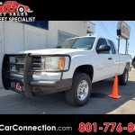 Used 2013 Gmc Sierra 2500hd 4wd Ext Cab 144 2 Work Truck For Sale In Roy Ut 84067 Joe S Car Connection