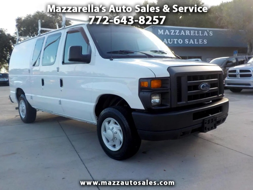 medium resolution of 2008 ford econoline cargo van