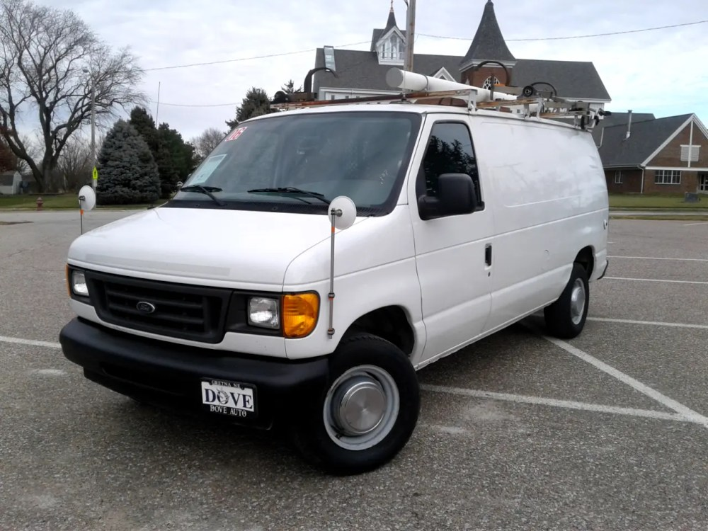 medium resolution of 2006 ford econoline cargo van e 250