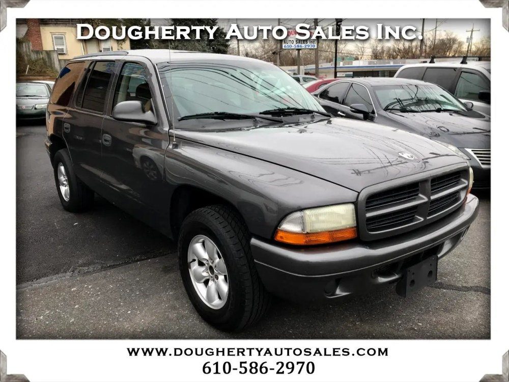 medium resolution of 2003 dodge durango 4dr sport