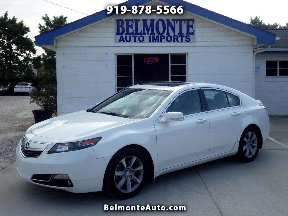 medium resolution of 2012 acura tl 6 speed at with tech package