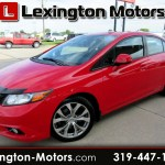Used 2012 Honda Civic Si Sedan 6 Speed Mt For Sale In Cedar Rapids Ia 52402 Lexington Motors