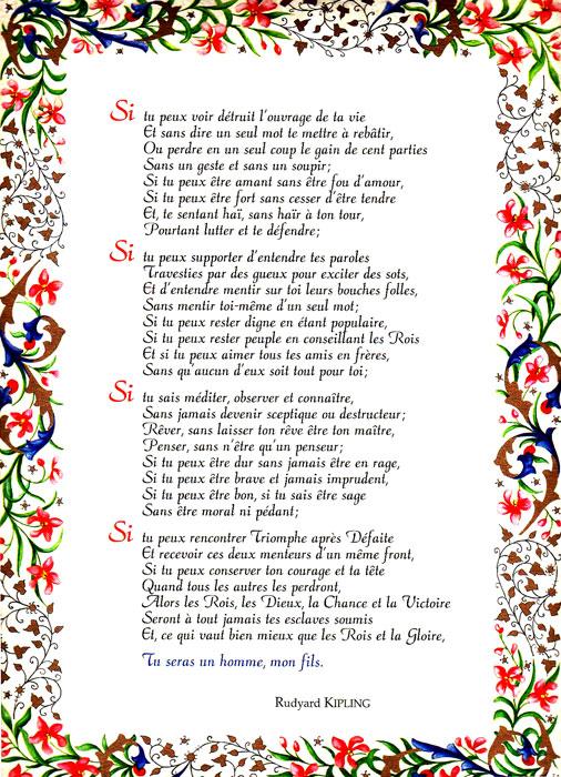 Tu Seras Un Homme Mon Fils : seras, homme, Poster, Texte, Saint, Fançois, D'Assise