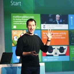 La presentazione della nuova app store per Windows (Afp)