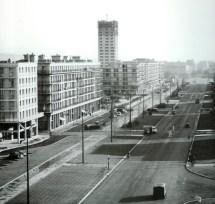 Avenue Foch Le Havre Vue Depuis La Porte Ocane Sur