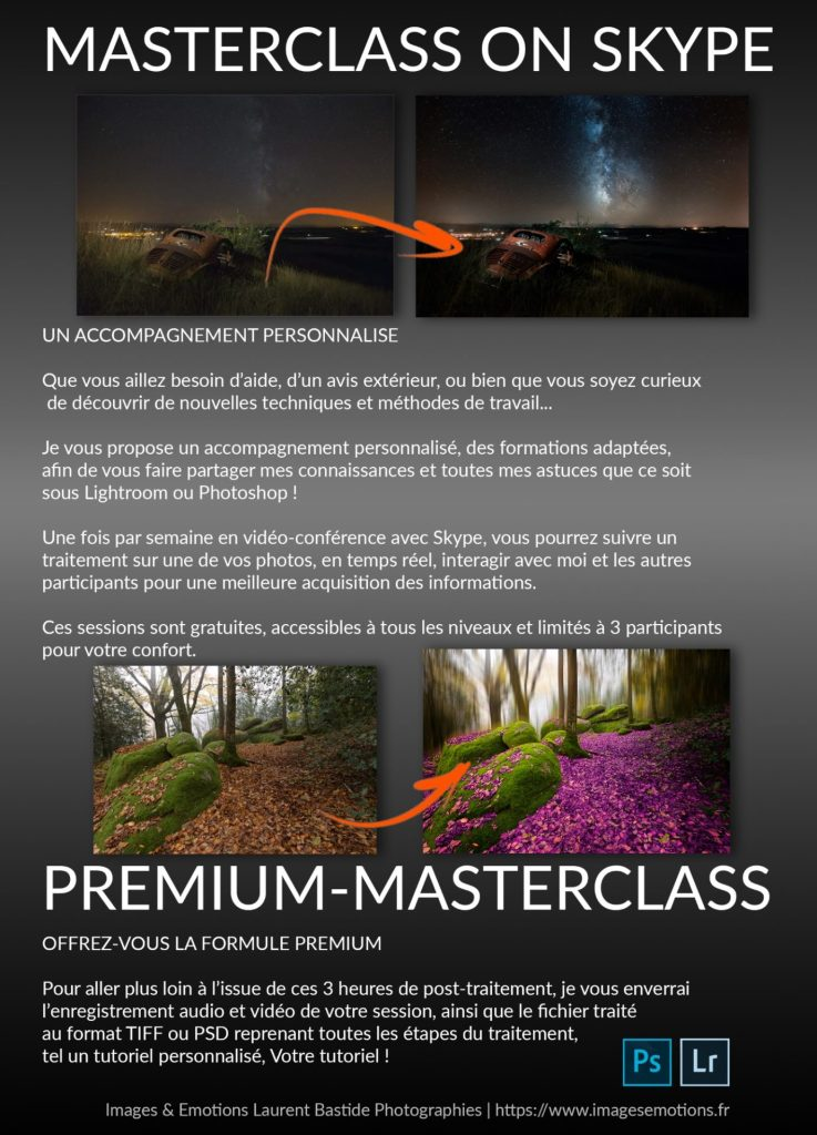 premium masterclass on skype lightroom photoshop