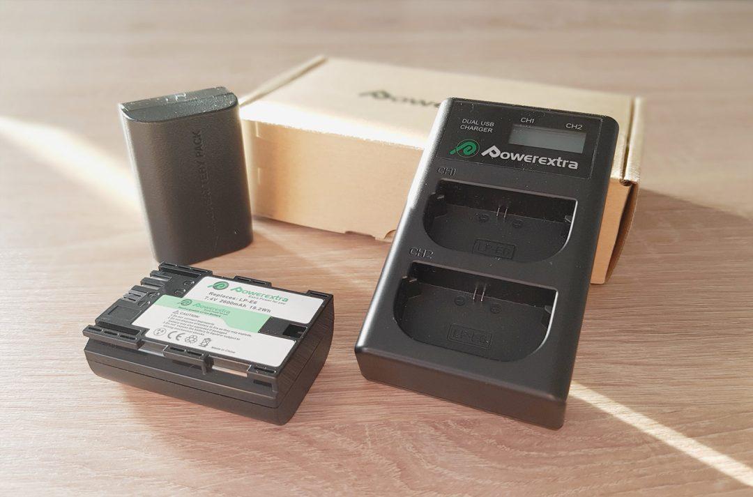 chargeur et batteries
