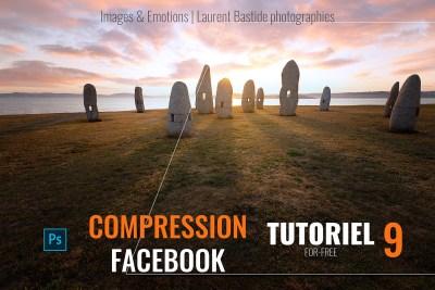 photoshop la compression facebook