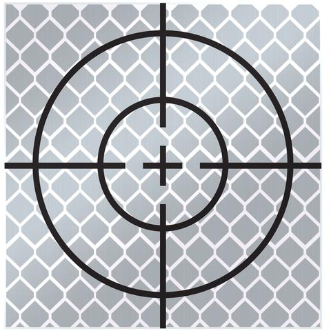 sitepro 60mm reflective target