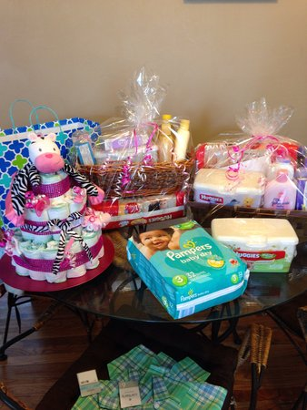 Gifts for baby shower from my stockpile   BabyCenter
