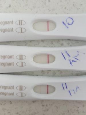 Very Very Faint Line On Pregnancy Test Almost Invisible : faint, pregnancy, almost, invisible, Faint, Positives?, September, Birth, BabyCenter, Australia