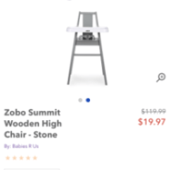 High Chairs Canada Yellow Leather Office Chair Zobo February 2018 Birth Club Babycenter