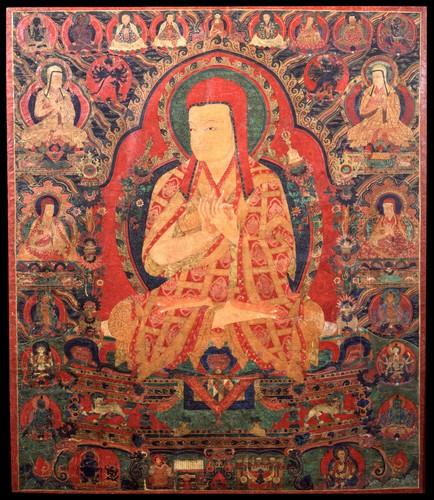 Ngorchen Kunga Zangpo (1382-1456) © Himalayanart.com