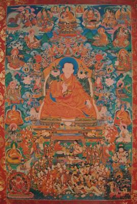 Desi Sangye Gyatso (1653-1705) © Himalayanart