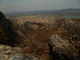 Враца от високо / Vratza from high