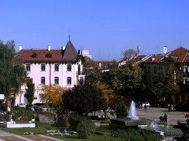 Враца площад Христо Ботев / Vratsa square Hristo Botev